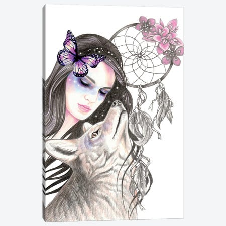 Dreamcatcher Canvas Print #AHR63} by Andrea Hrnjak Canvas Artwork