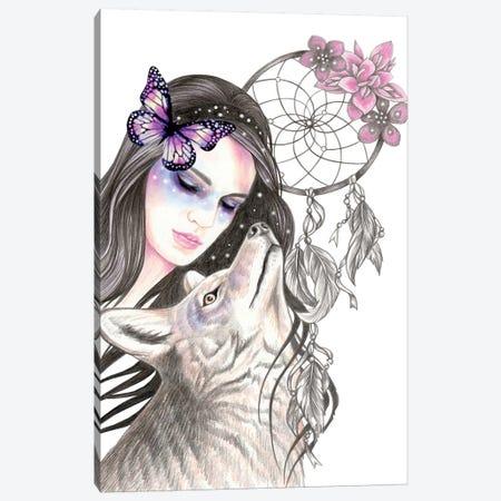 Dreamcatcher Canvas Print #AHR63} by Andrea Hrnjak Canvas Artwork