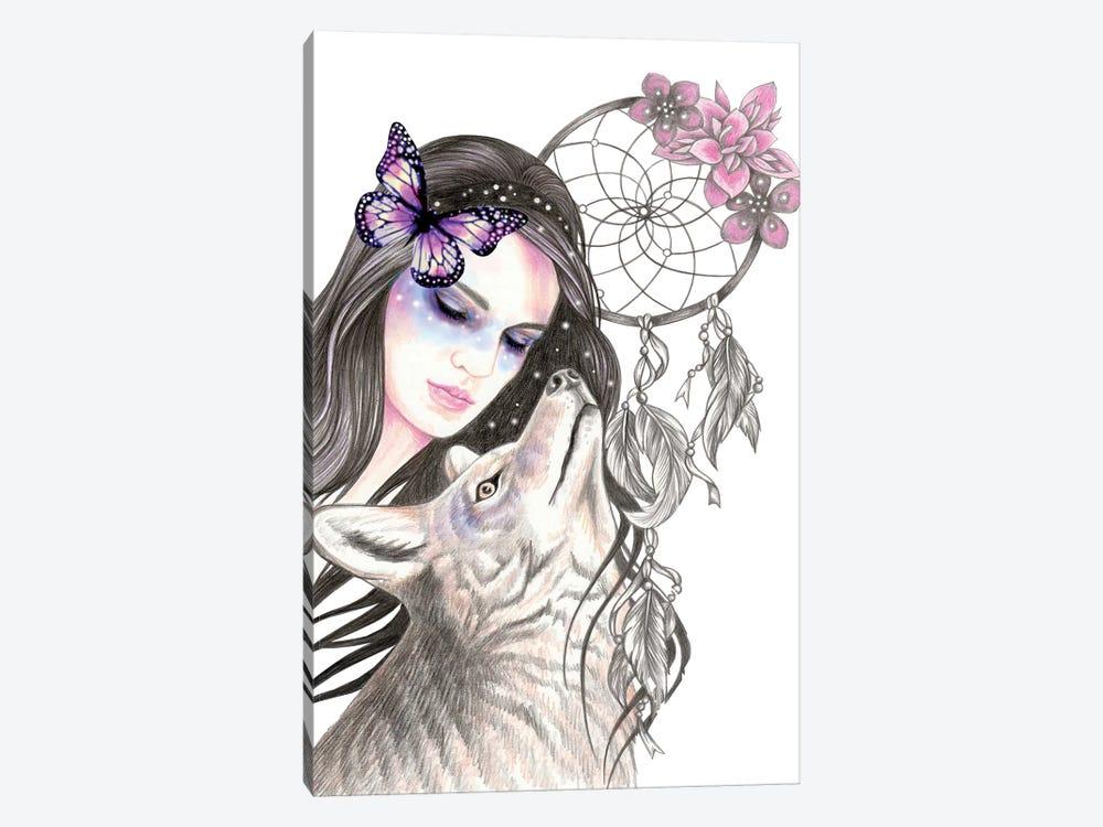 Dreamcatcher by Andrea Hrnjak 1-piece Canvas Artwork