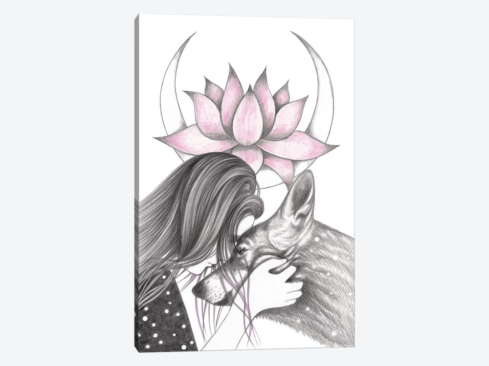 Lotus by Andrea Hrnjak 1-piece Art Print