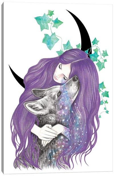 Cosmic Tears Canvas Art Print