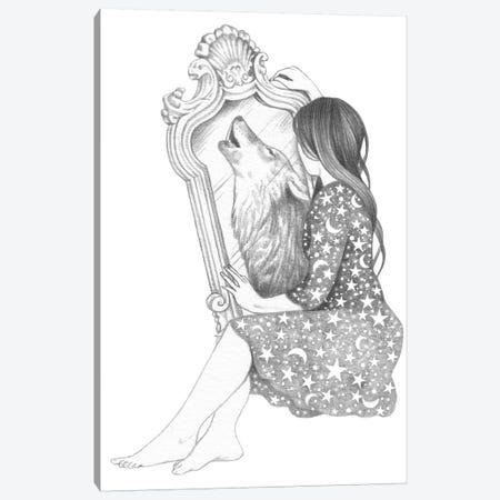 Mirror Canvas Print #AHR67} by Andrea Hrnjak Canvas Print