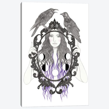 Magic Mirror Canvas Print #AHR71} by Andrea Hrnjak Canvas Art Print