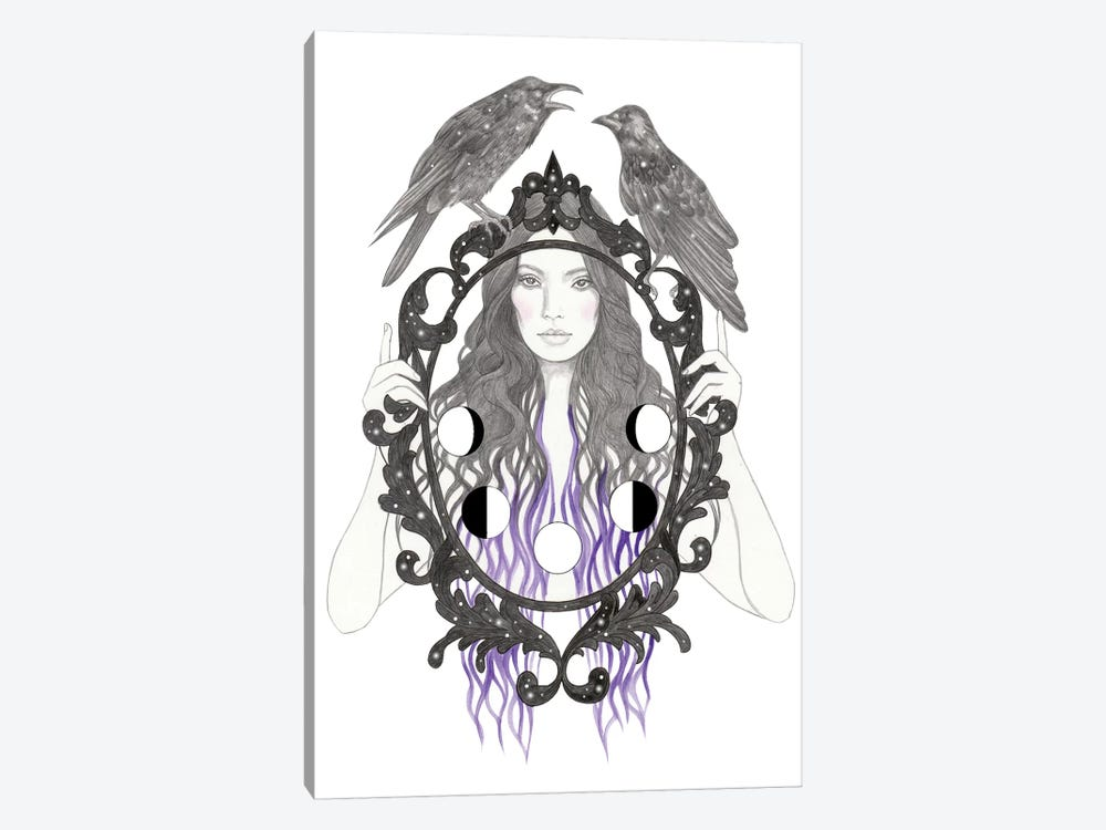 Magic Mirror by Andrea Hrnjak 1-piece Canvas Print