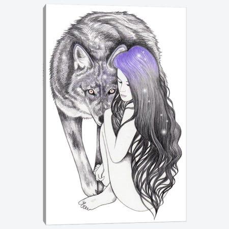 Wild Soul Canvas Print #AHR74} by Andrea Hrnjak Canvas Artwork