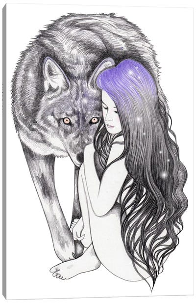 Wild Soul Canvas Art Print