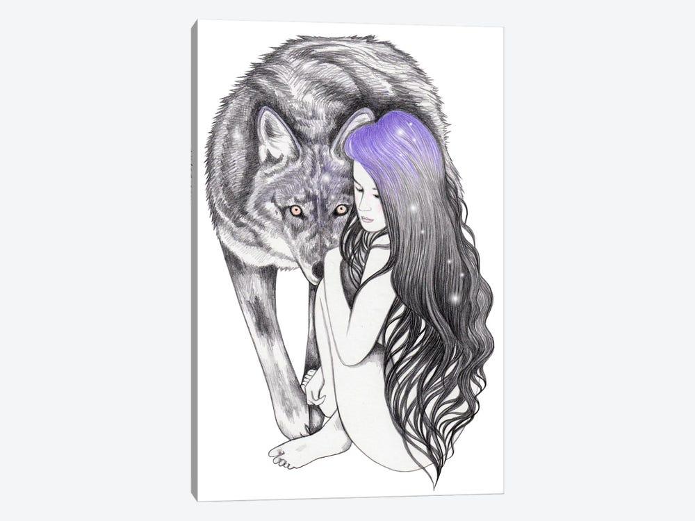 Wild Soul by Andrea Hrnjak 1-piece Canvas Wall Art