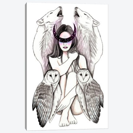 Magic Woman Canvas Print #AHR79} by Andrea Hrnjak Canvas Print