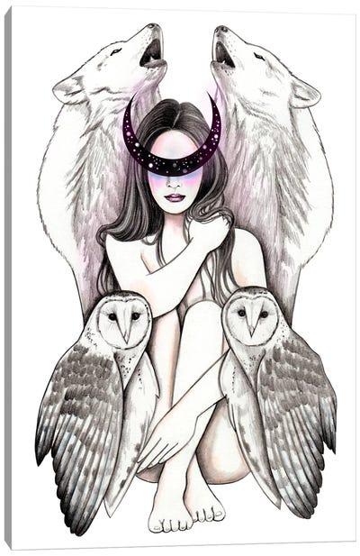 Magic Woman Canvas Art Print
