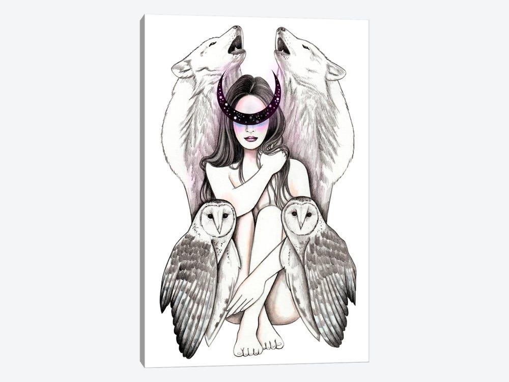 Magic Woman by Andrea Hrnjak 1-piece Canvas Print