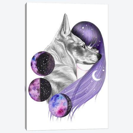 Moon Magic Canvas Print #AHR80} by Andrea Hrnjak Canvas Art