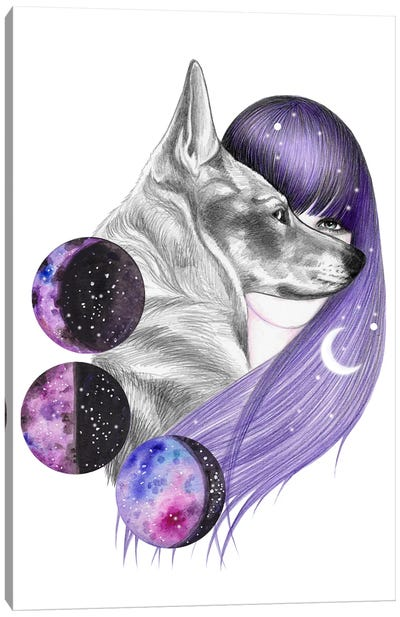 Moon Magic Canvas Art Print