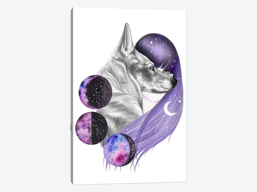 Moon Magic by Andrea Hrnjak 1-piece Canvas Print