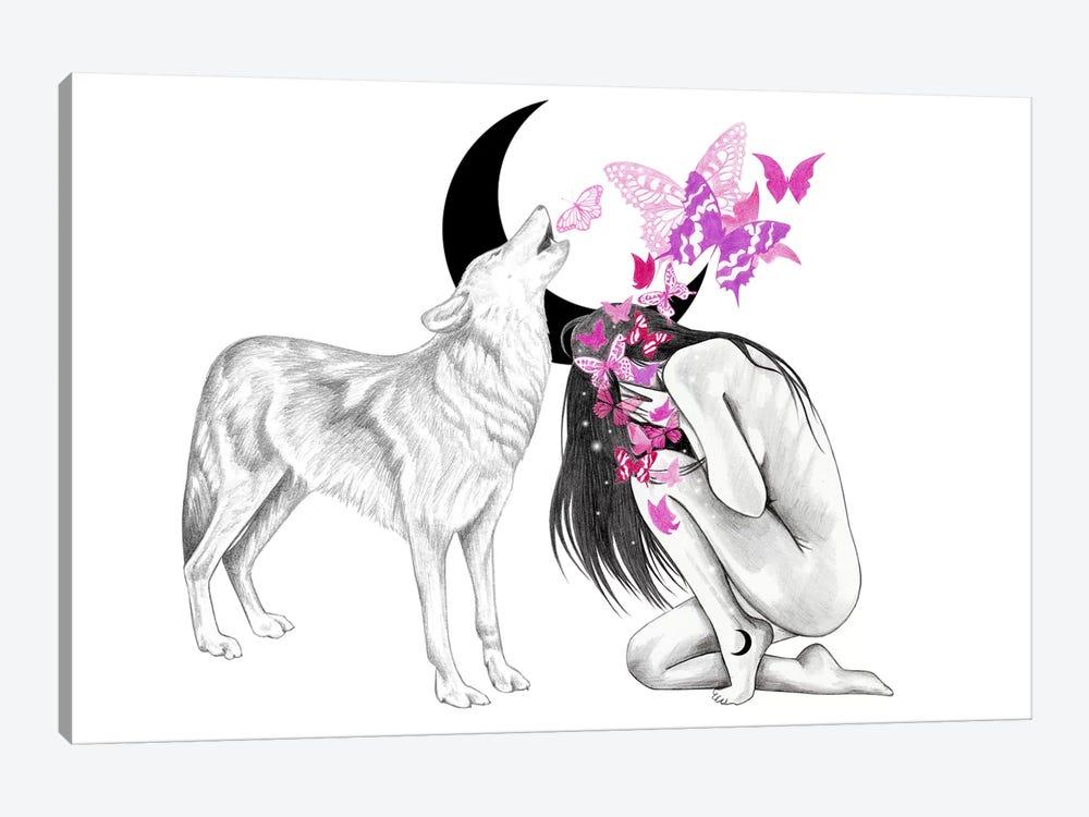Butterfly Effect by Andrea Hrnjak 1-piece Canvas Artwork