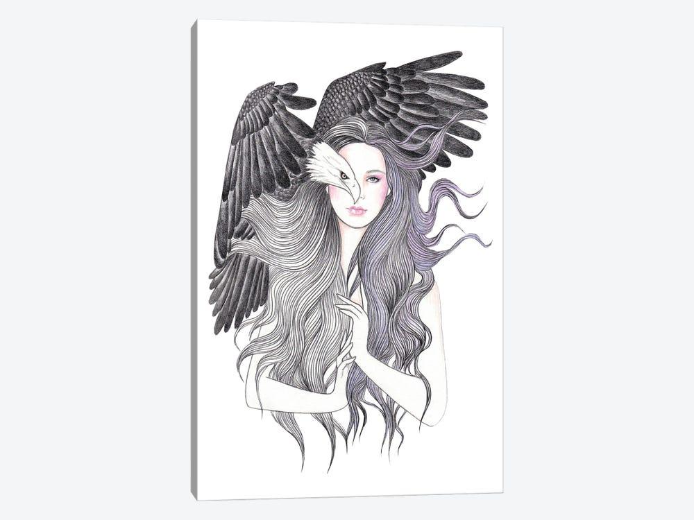 Eagle Eye by Andrea Hrnjak 1-piece Canvas Wall Art