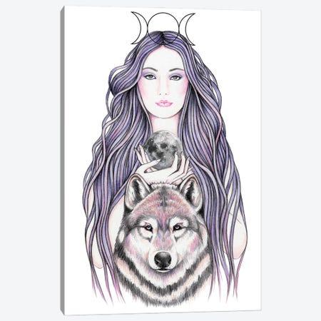 Mystic Moonlight Canvas Print #AHR86} by Andrea Hrnjak Canvas Print