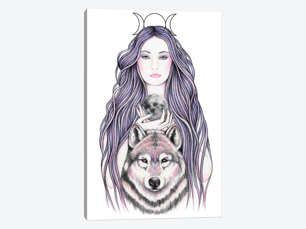 Mystic Moonlight by Andrea Hrnjak 1-piece Canvas Print