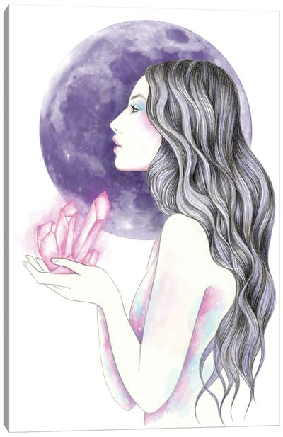Crystal Magic Canvas Art Print