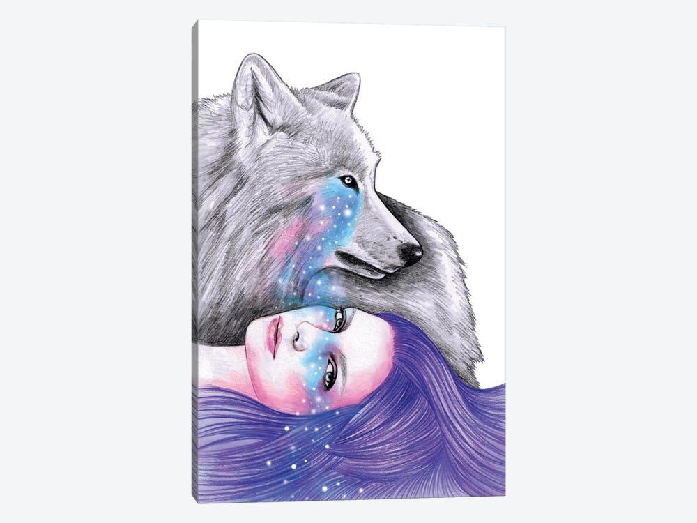 Cosmic Love by Andrea Hrnjak 1-piece Canvas Art