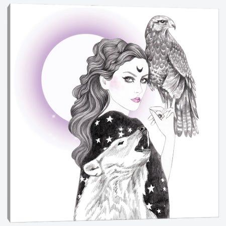 Sorceress Canvas Print #AHR90} by Andrea Hrnjak Art Print
