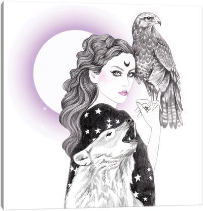 Sorceress Canvas Art Print