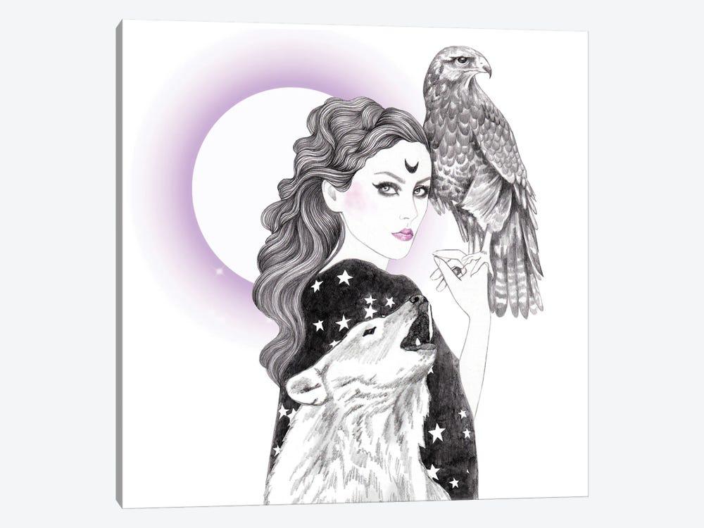 Sorceress by Andrea Hrnjak 1-piece Canvas Art