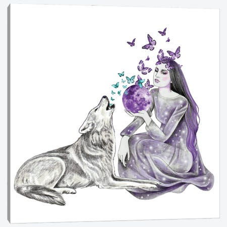 Spells Canvas Print #AHR93} by Andrea Hrnjak Canvas Art Print