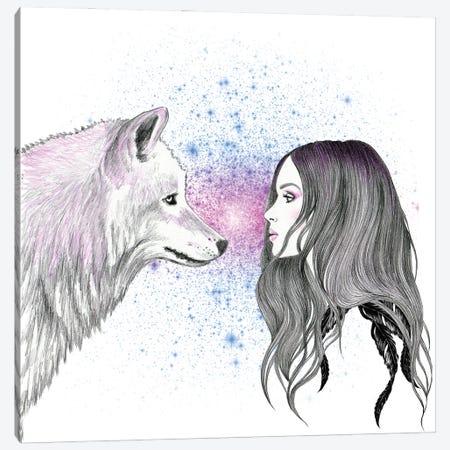 Magic Love Canvas Print #AHR94} by Andrea Hrnjak Canvas Artwork