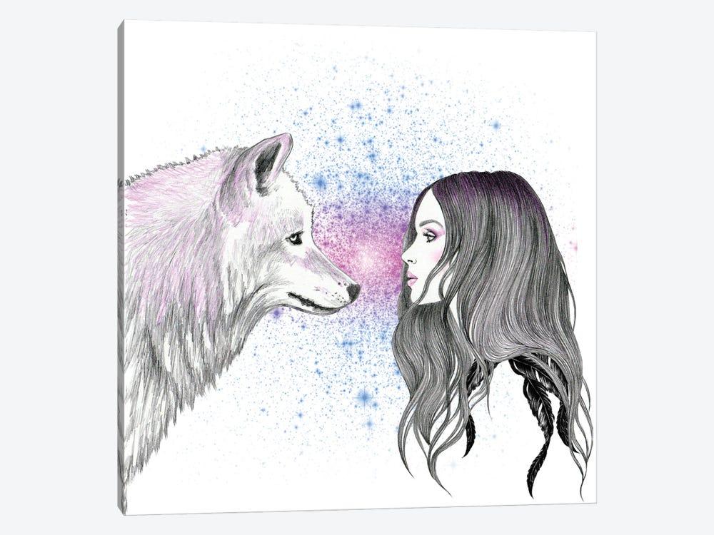 Magic Love by Andrea Hrnjak 1-piece Canvas Artwork