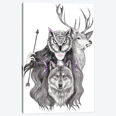 Artemis Canvas Print #AHR98} by Andrea Hrnjak Art Print