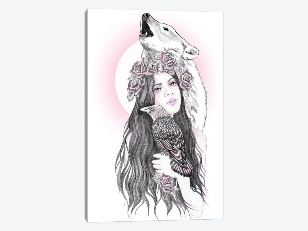 Crow Moon by Andrea Hrnjak 1-piece Art Print