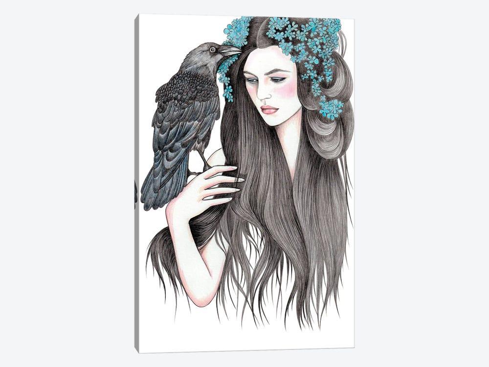 Crow by Andrea Hrnjak 1-piece Art Print