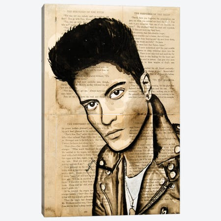 Bruno Canvas Print #AHS12} by Ahmad Shariff Canvas Art