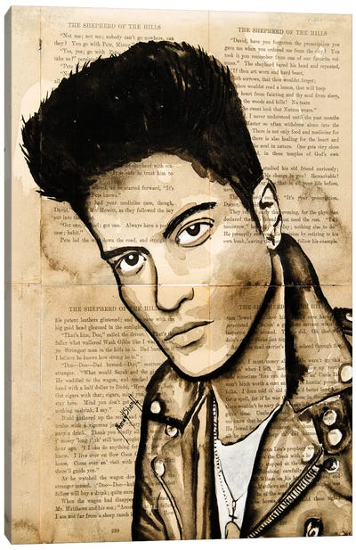 Bruno Canvas Art Print