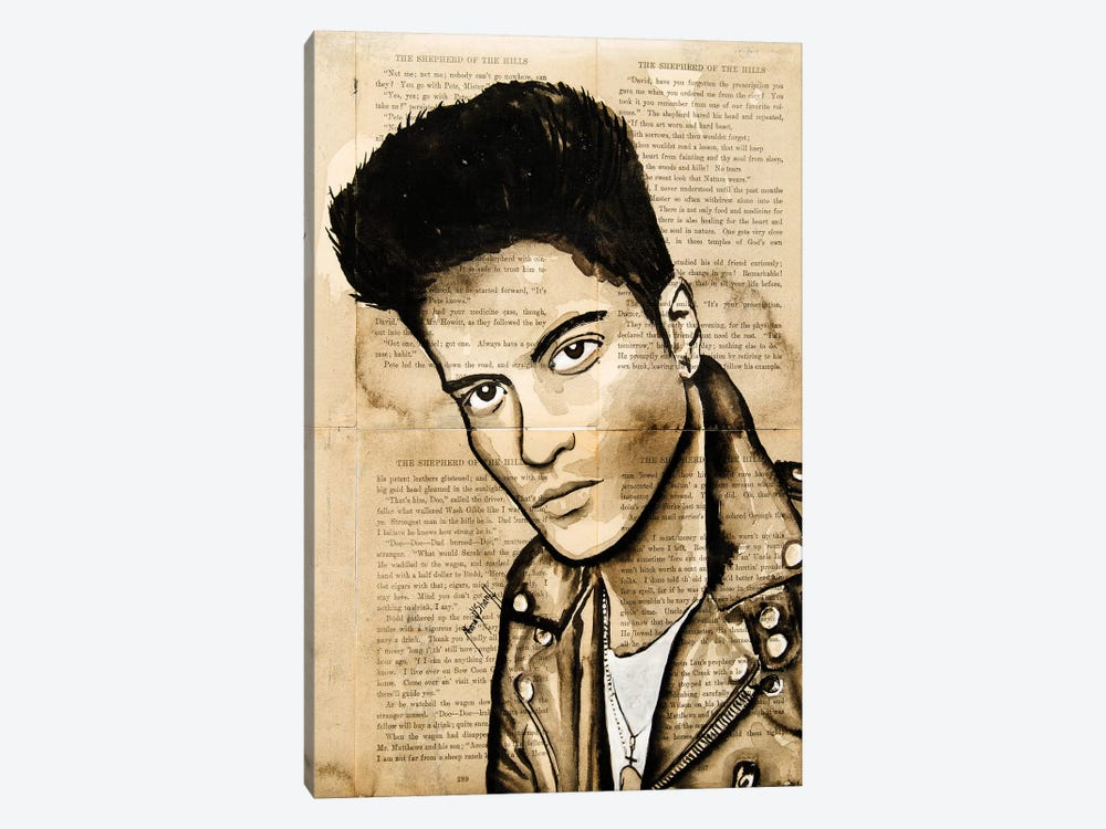 Bruno by Ahmad Shariff 1-piece Canvas Art Print