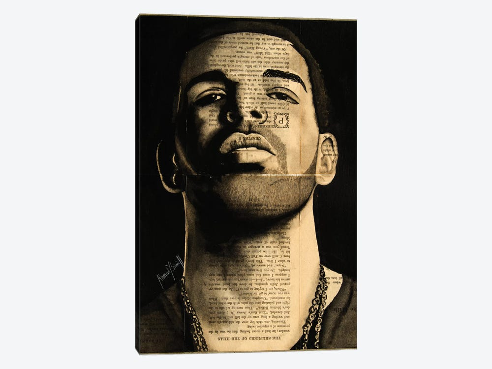 Drake by Ahmad Shariff 1-piece Art Print