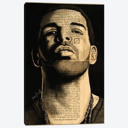 Drake Canvas Print #AHS14} by Ahmad Shariff Canvas Print