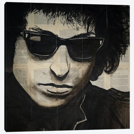 Dylan Canvas Print #AHS15} by Ahmad Shariff Canvas Art Print