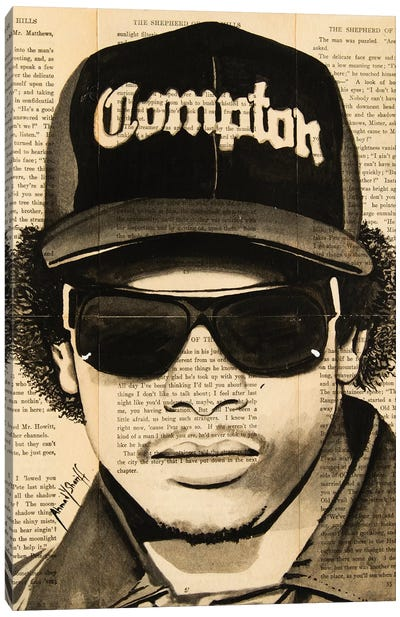 Eazy-E Canvas Art Print