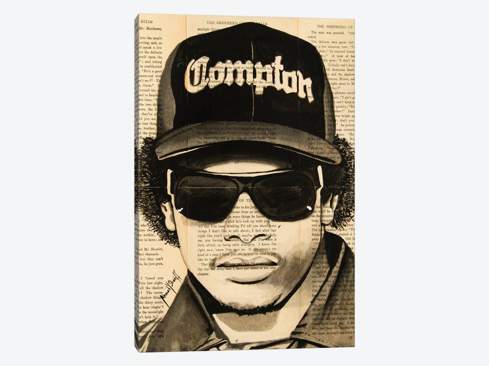 Eazy-E by Ahmad Shariff 1-piece Art Print