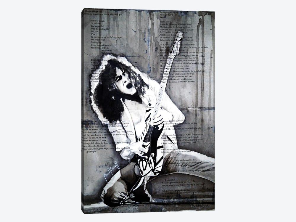 Eddie Van Halen by Ahmad Shariff 1-piece Canvas Wall Art