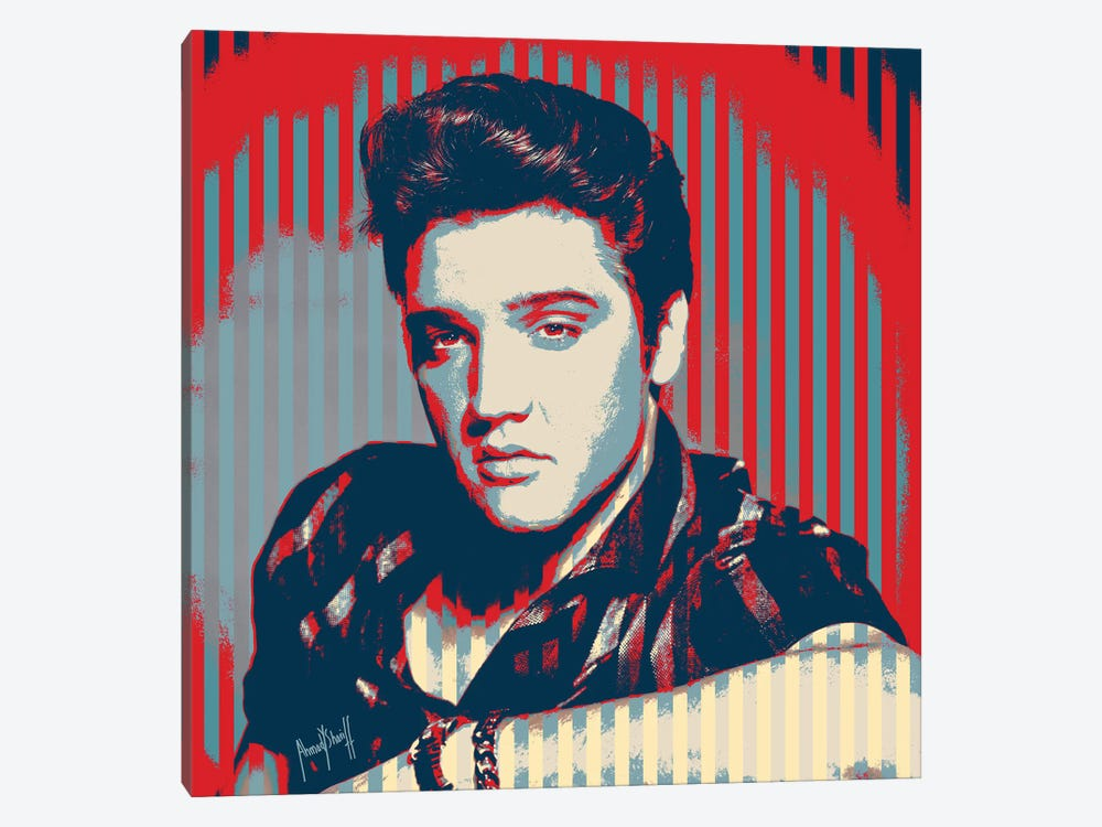 Elvis by Ahmad Shariff 1-piece Canvas Print
