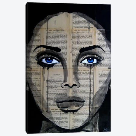 Eyes Canvas Print #AHS19} by Ahmad Shariff Canvas Artwork