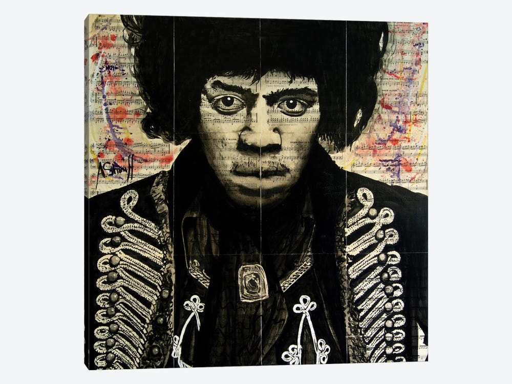 Hendrix II by Ahmad Shariff 1-piece Canvas Artwork