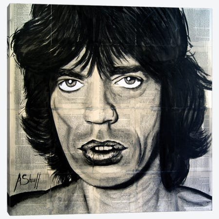 Jagger Canvas Print #AHS22} by Ahmad Shariff Art Print