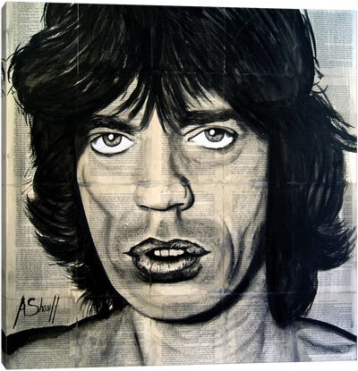 Jagger Canvas Art Print