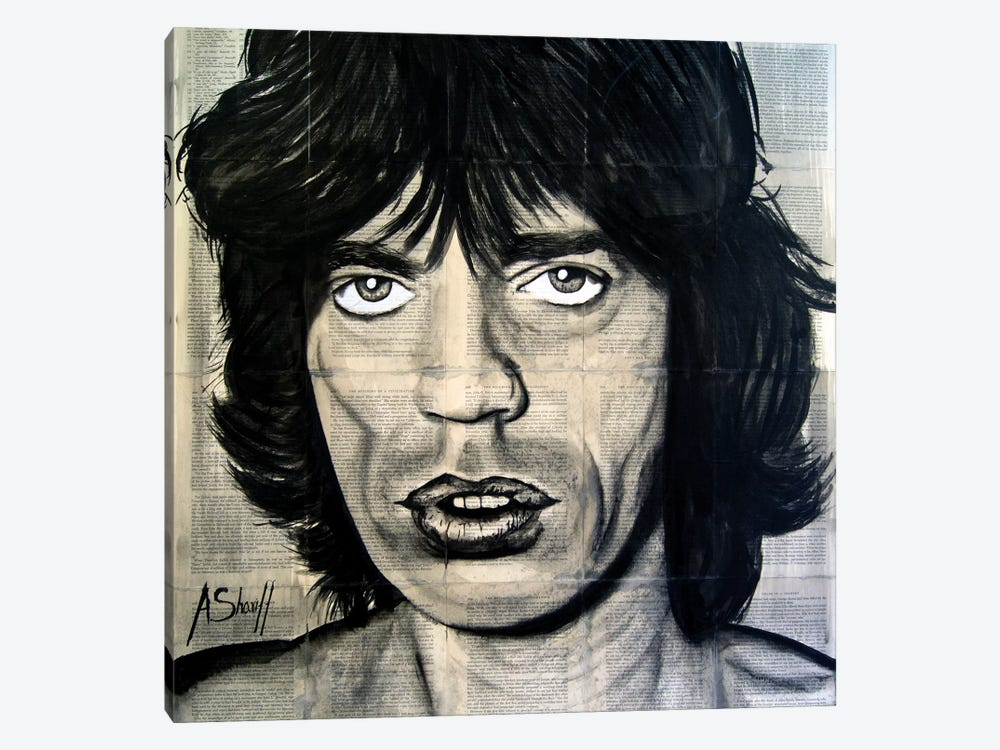 Jagger by Ahmad Shariff 1-piece Canvas Artwork