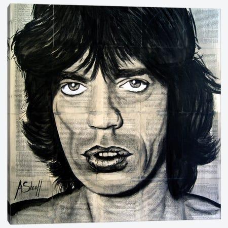 Jagger Canvas Print #AHS22} by Ahmad Shariff Art Print