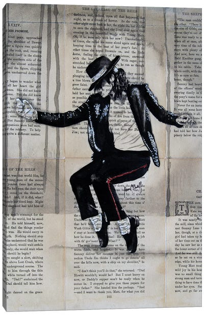 Michael Jackson Canvas Art Print