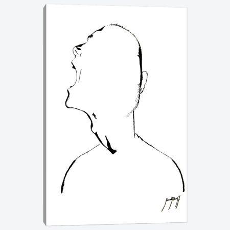 Our Inner Demons I 3-Piece Canvas #AHS29} by Ahmad Shariff Canvas Print